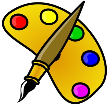Paint clipart. Free graphics images and