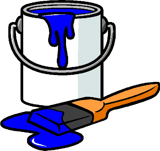 Can . Paint clipart