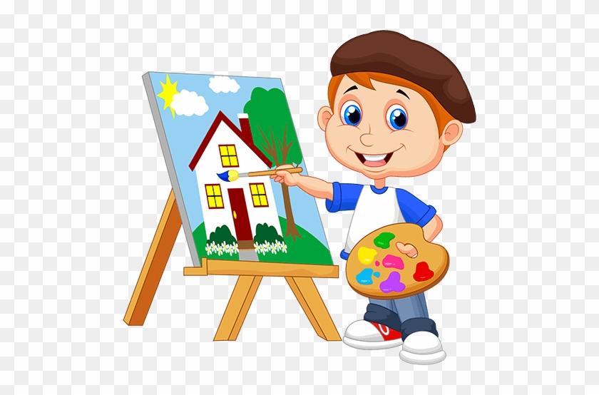 Paint clipart boy. X free clip art