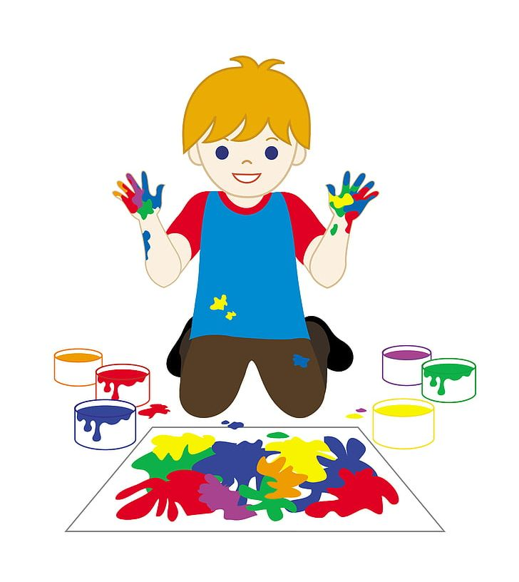 Fingerpaint png area art. Paint clipart child painting