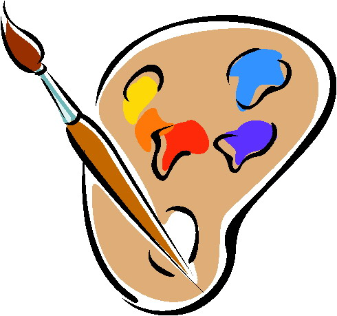 Free download clip art. Painter clipart face painting