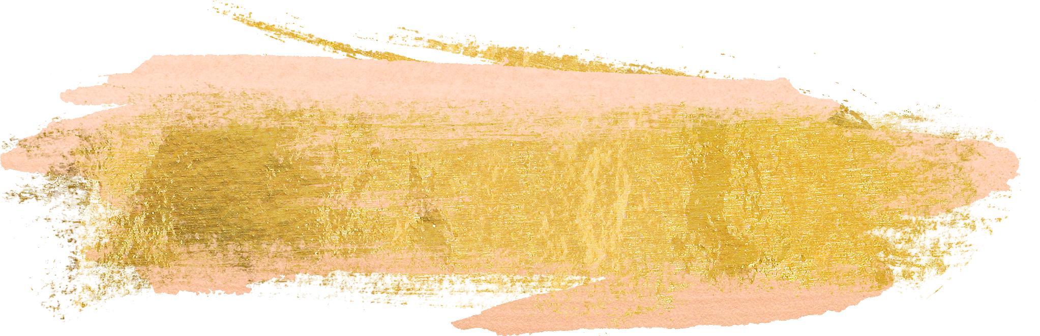 Free gold paint strokes. Paintbrush clipart brush line