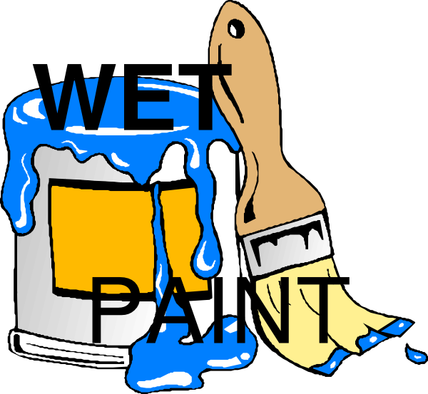 Wednesday clipart wet. Paint clip art at