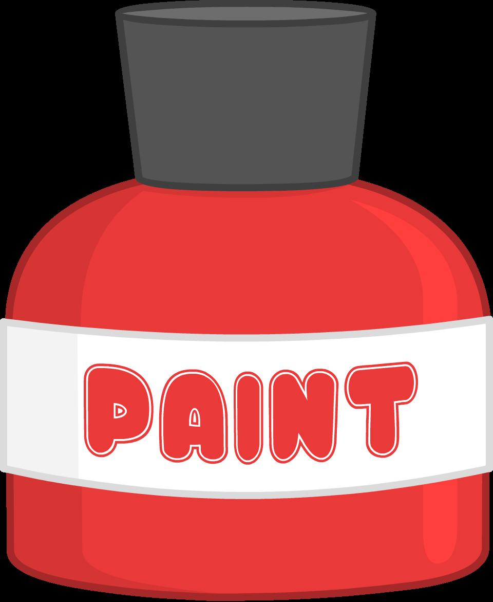 Paint clipart paint bottle. Image png object terror