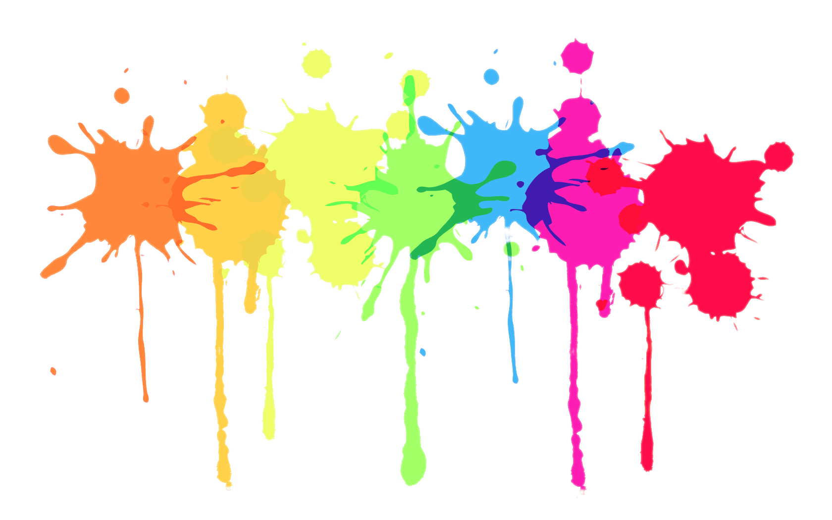 Splatter transparent png images. Paint clipart paint drip