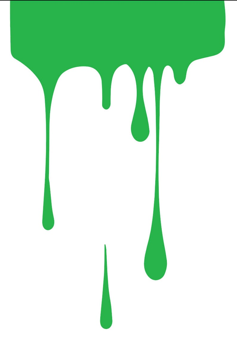 Paint clipart paint drip.  svg file for