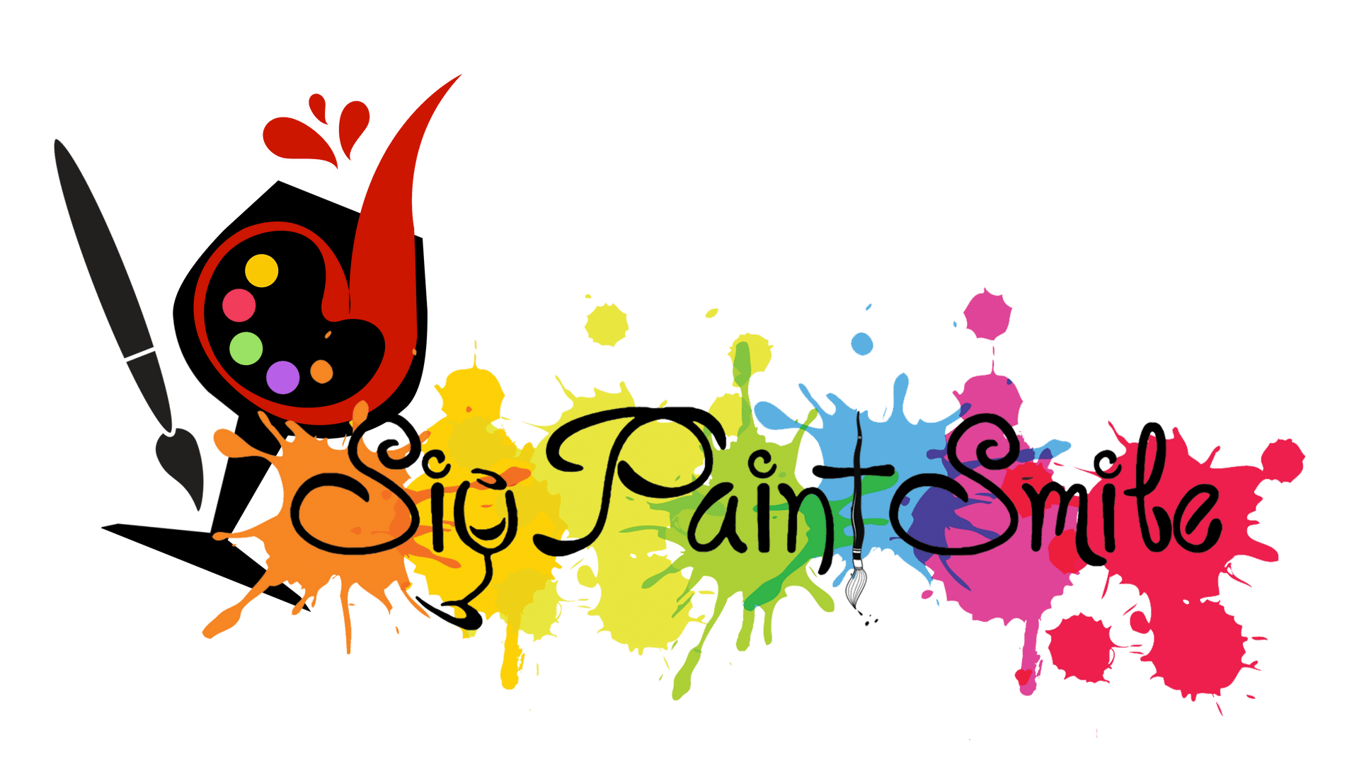 Paint clipart paint night. Sip smile and studios