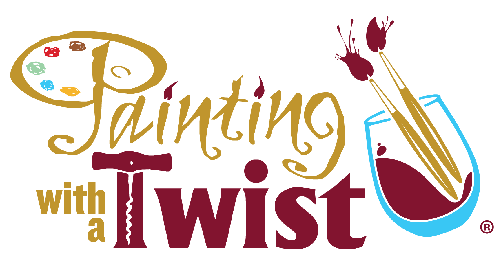 Paint clipart paint night. Painting with a twist