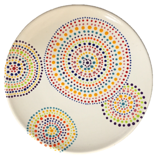 Painter clipart paint plate. Pottery painting ideas at