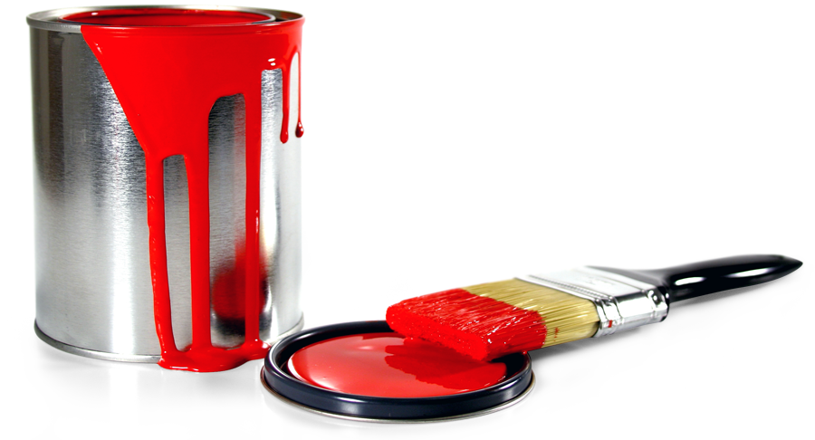 Images of png spacehero. Painter clipart red paint bucket
