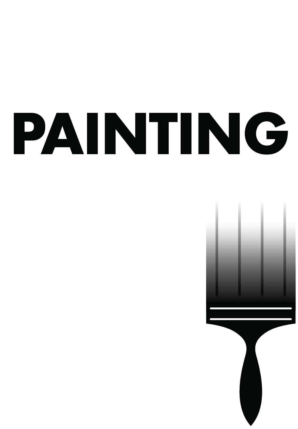 Paint clipart painting room. Cost to a h
