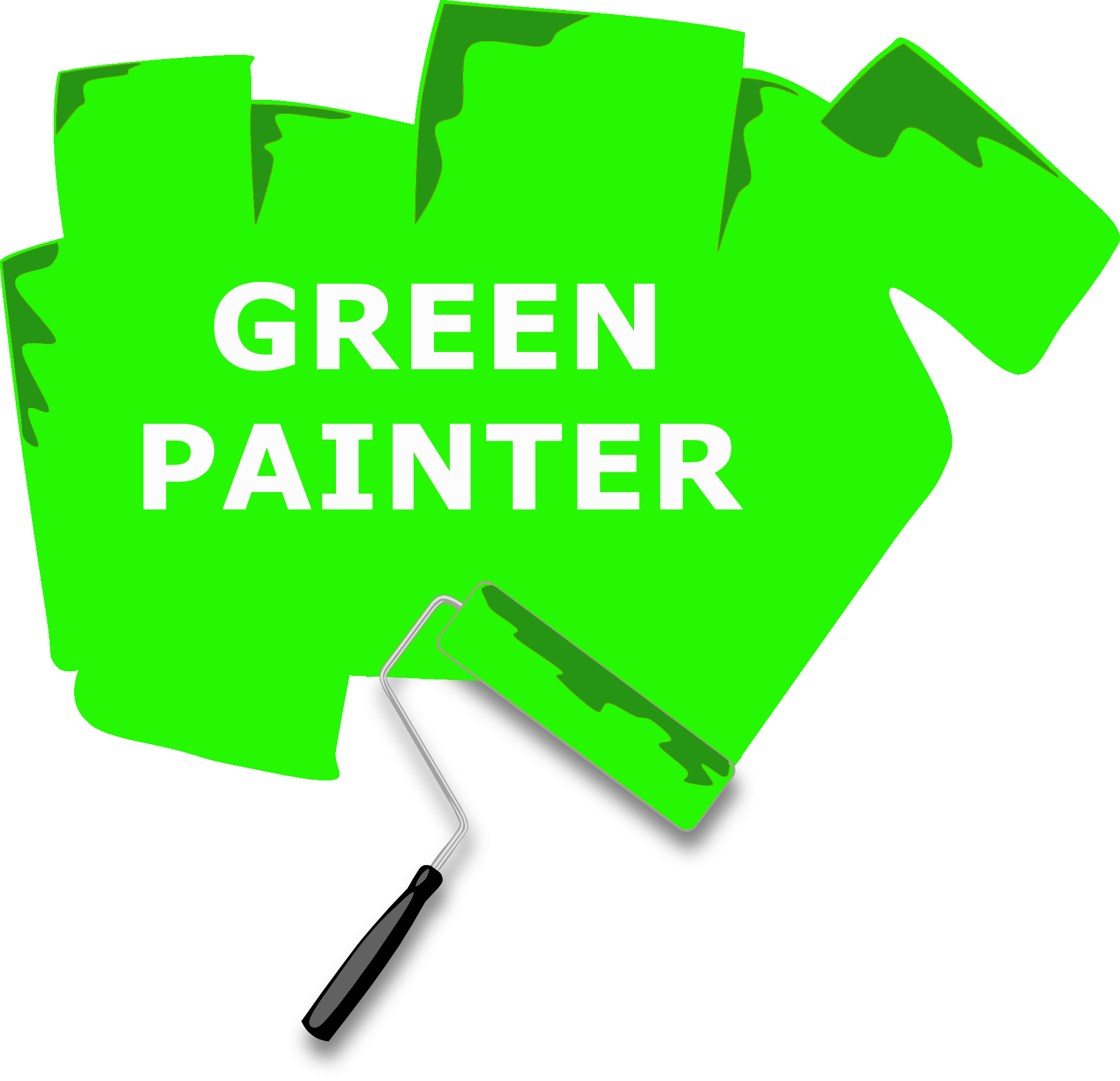 Paint clipart painting room. Abc services accredited green