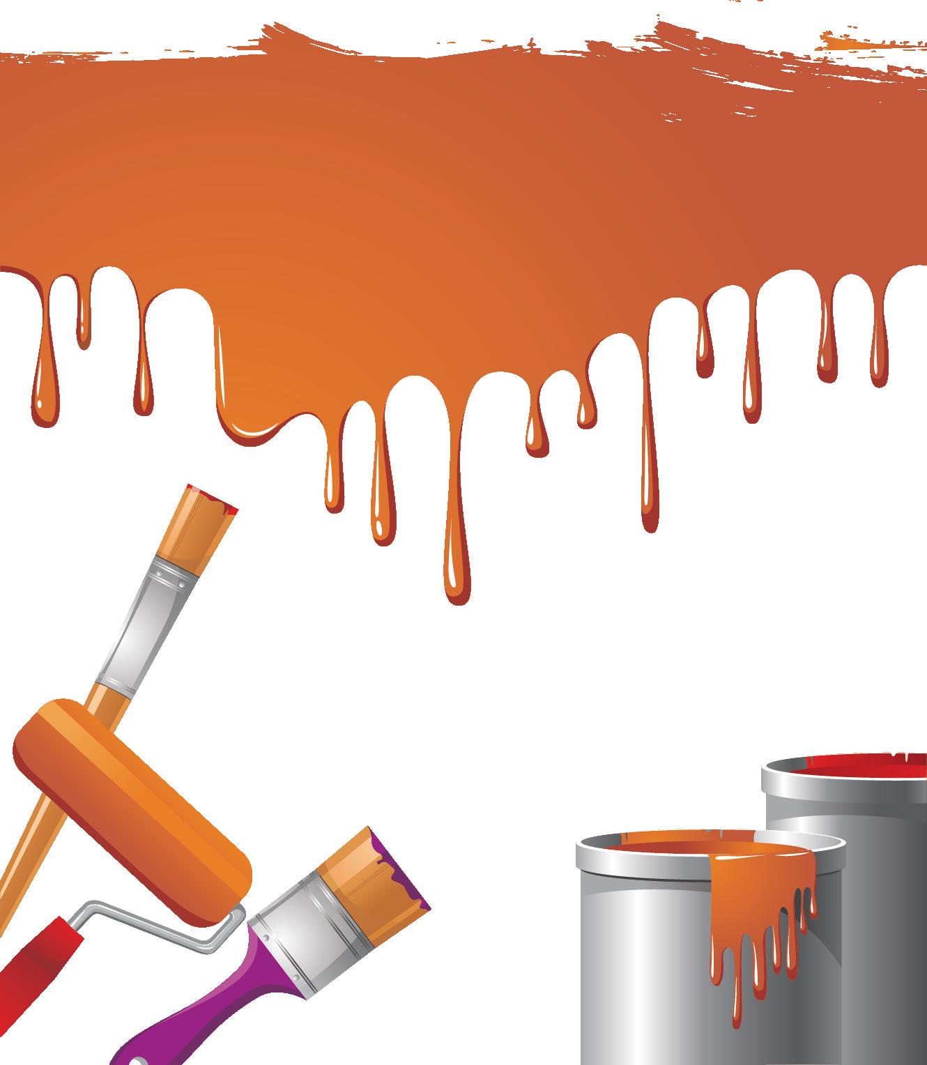 Paintbrush roller