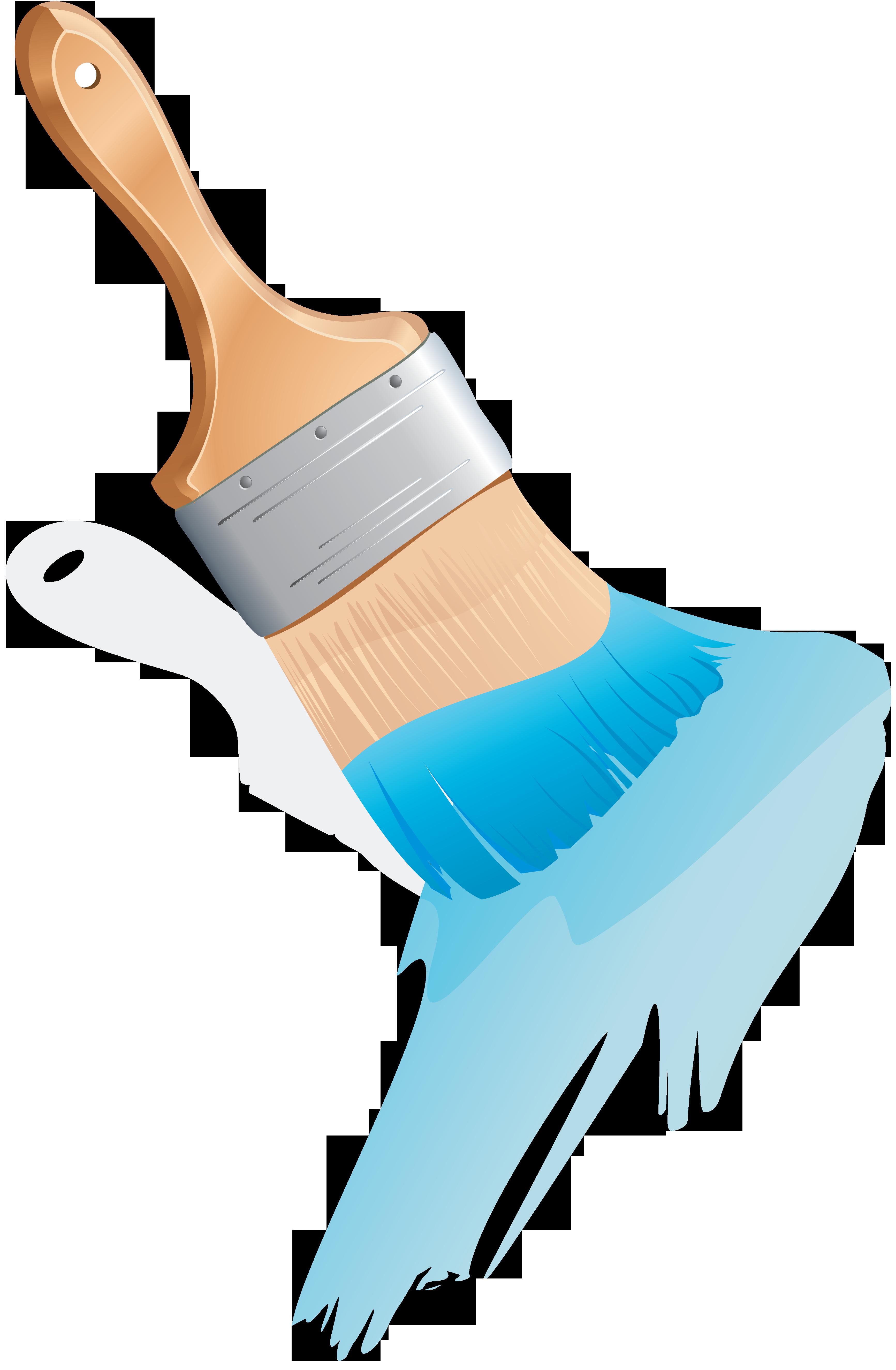 Paint brush png image. Paintbrush clipart bursh