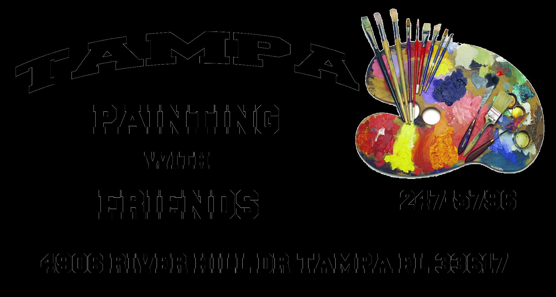 Painter clipart wet paint. Tampa painting classes art
