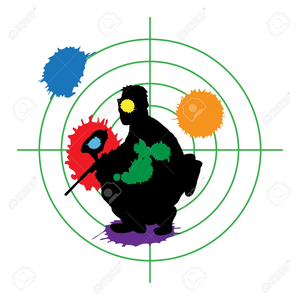 Paintball clipart. Animated free images at