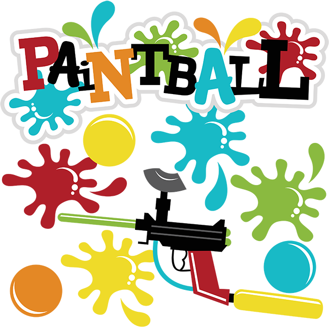 . Paintball clipart