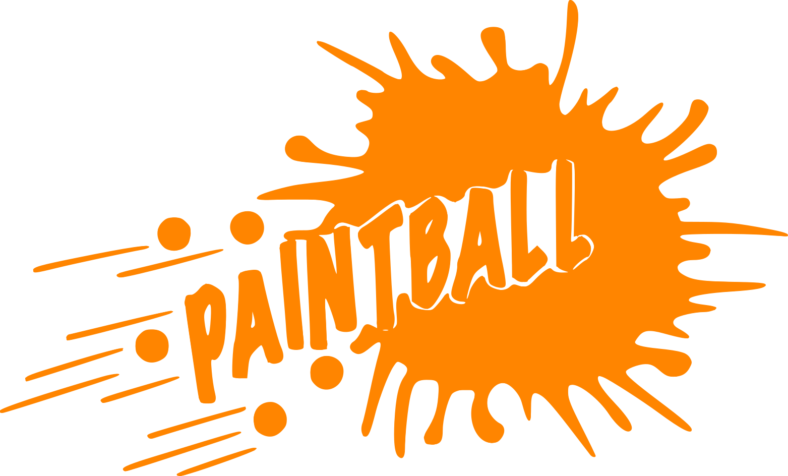 Png pic mart. Paintball clipart border