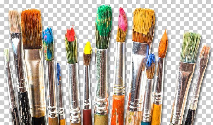 Watercolor painting oil png. Paintbrush clipart acrylic paint