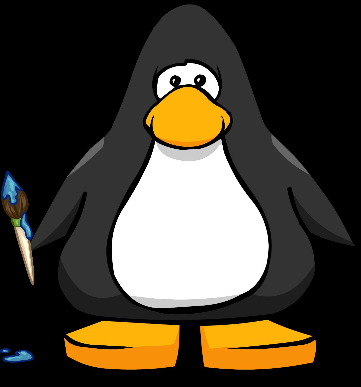 Image pc png penguin. Paintbrush clipart art club