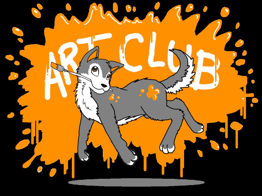 Paintbrush clipart art club. T shirt design by