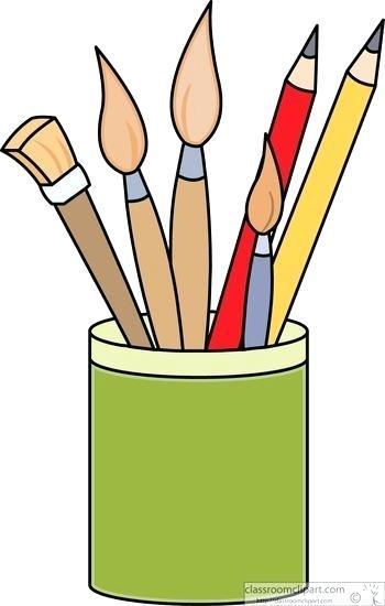 Paint brush delipollo com. Paintbrush clipart art store
