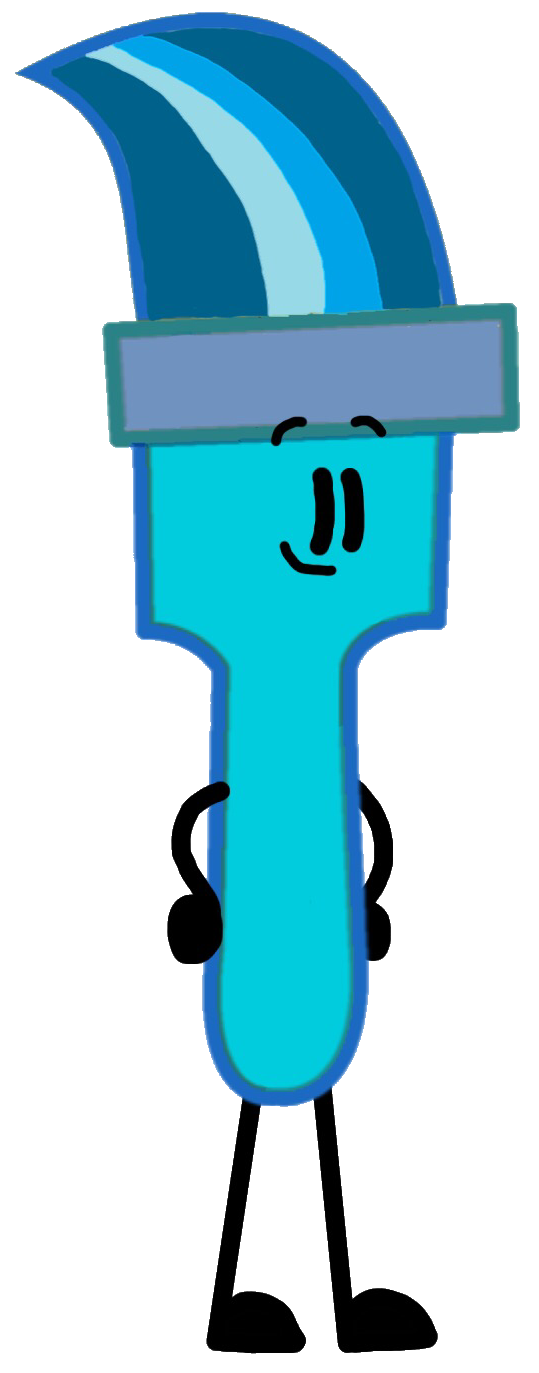 Paintbrush clipart blue. Bluebrush s long lost
