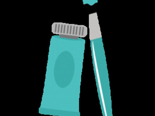 Paint brush free on. Paintbrush clipart blue