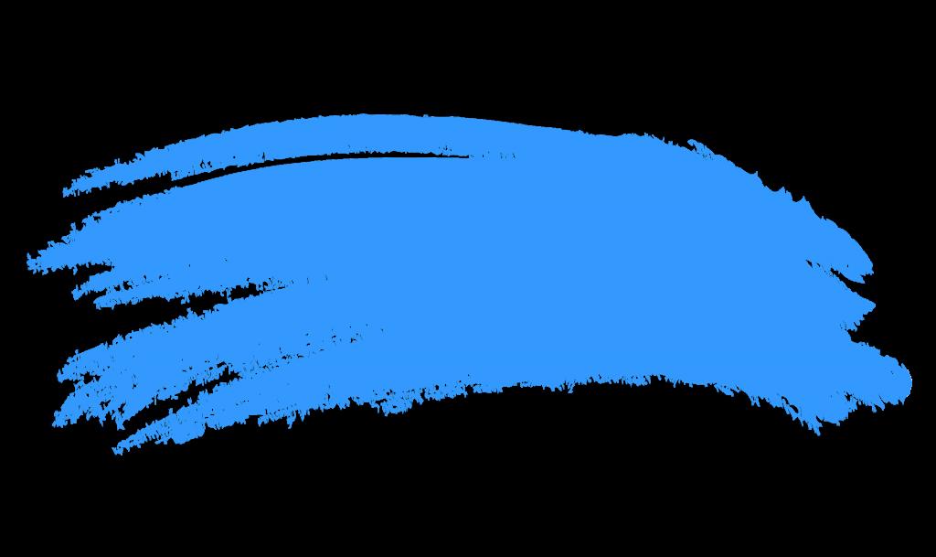 Paintbrush clipart blue. Paint brush stroke png
