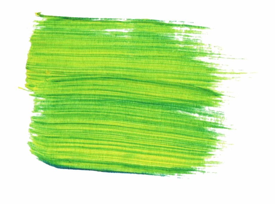 Paintbrush clipart green paintbrush. Paint brush stroke png