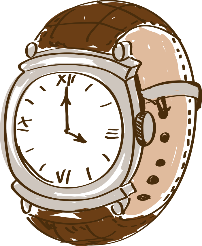 See clipart analog watch. Cartoon drawing clip art