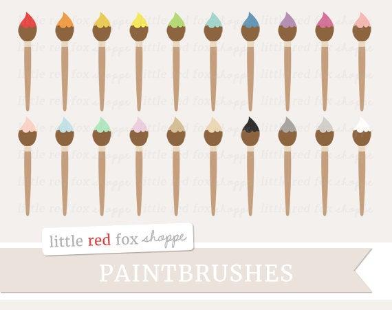 Paintbrush clipart painting fence. Clip art paint brush