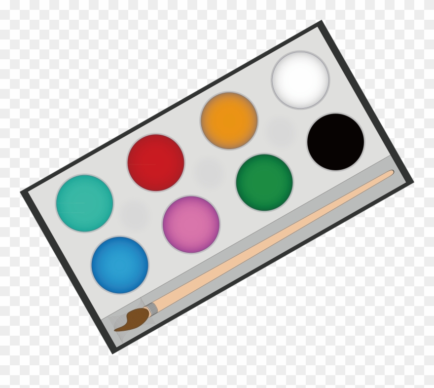 Paintbrush clipart painting material. Png download