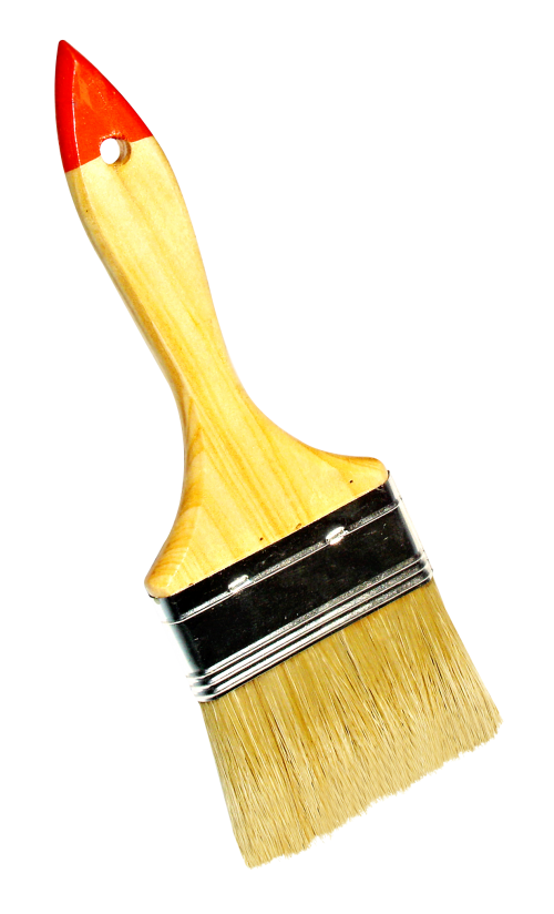 Paintbrush pastry brush
