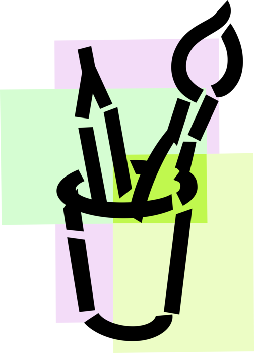 Paintbrush clipart visual art. Artist s and drawing