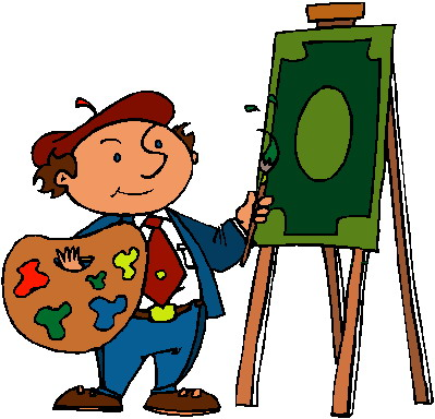 Art clipart art activity. Painting clip picgifs com