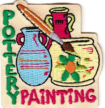 Painter clipart ceramic painting. Amazon com pottery iron