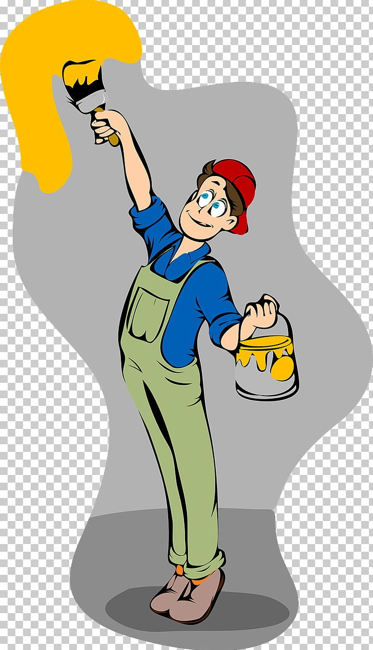 Painter clipart door. Painting wall png arm