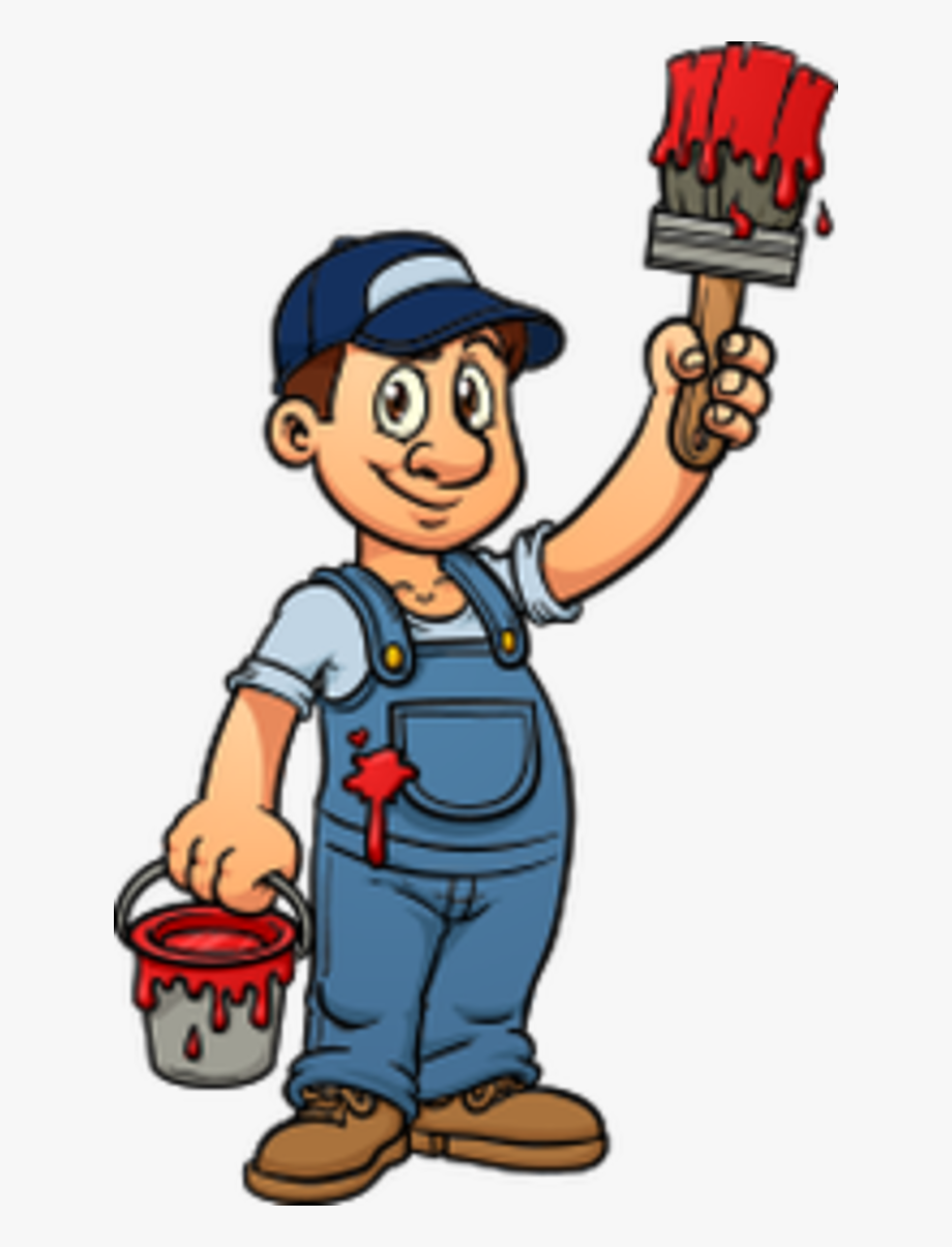 Painter clipart profession. House painting png