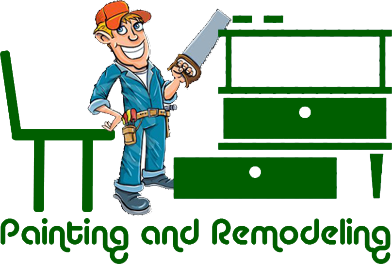Painter clipart remodel. Painting and remodeling bellerive