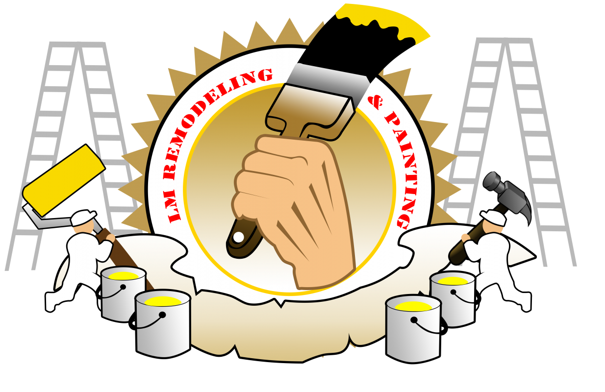 Painter clipart remodel. Contact us lm remodeling