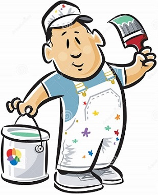 Free. Painter clipart
