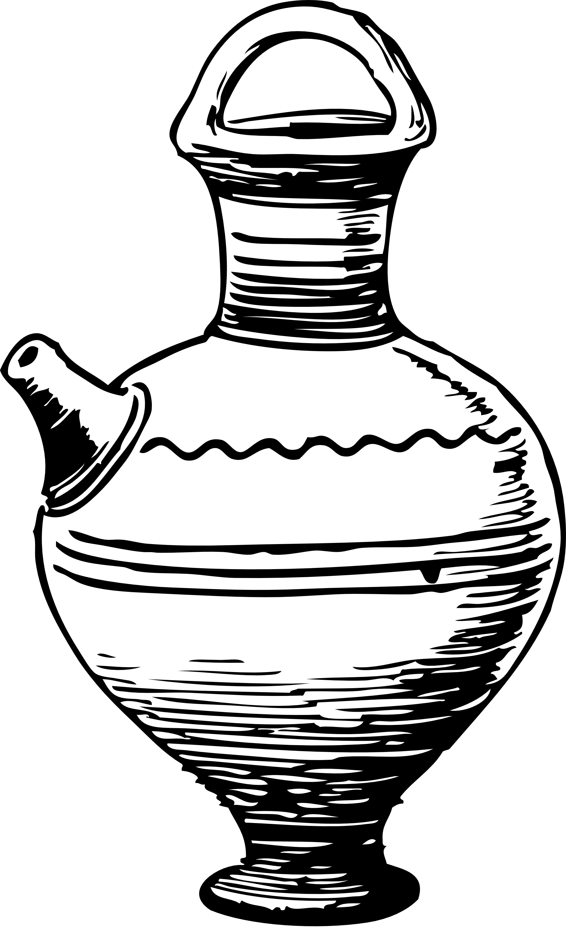 pottery clipart coloring