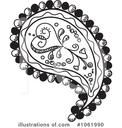 Illustration by inkgraphics royaltyfree. Paisley clipart