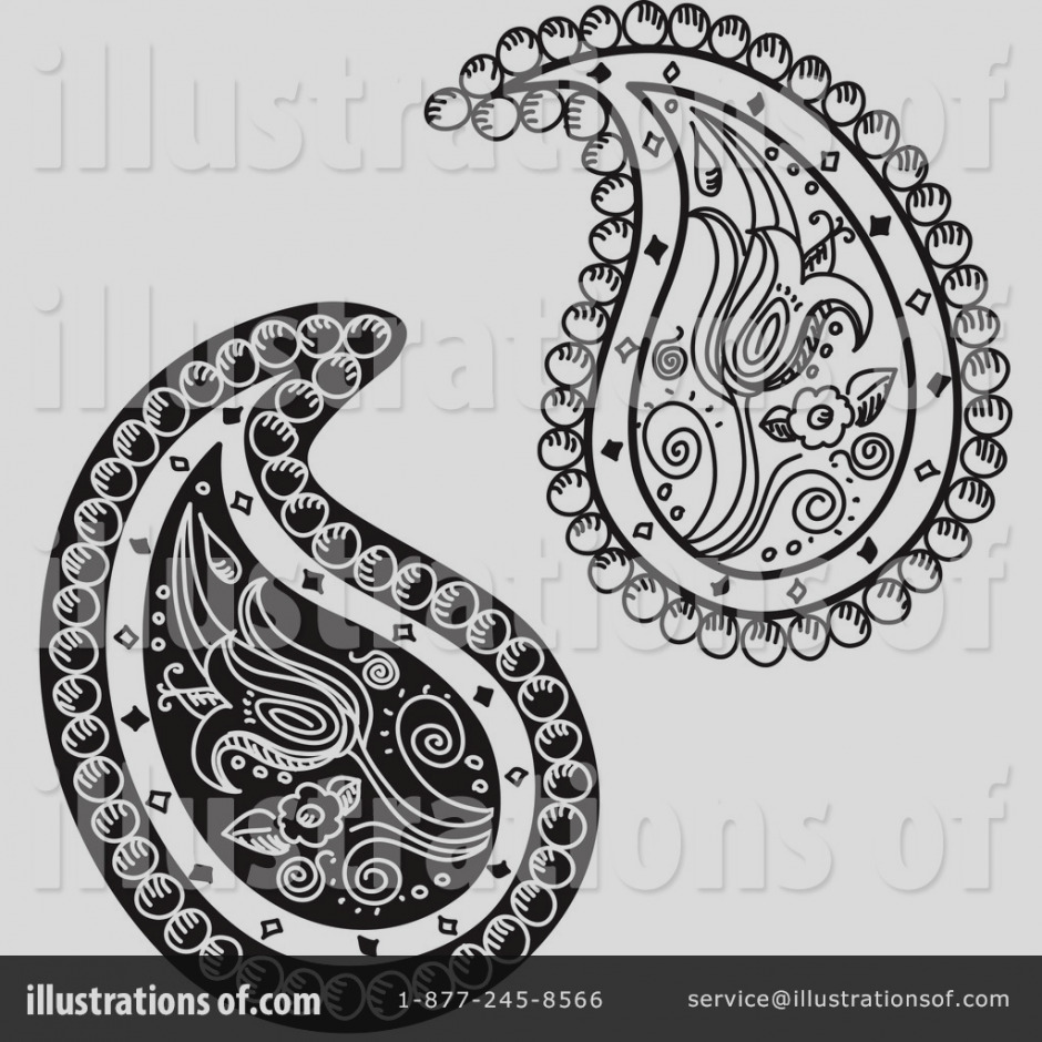 Paisley clipart. Images of clip art