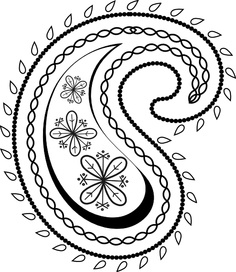 Paisley clipart basic. Free cliparts download clip