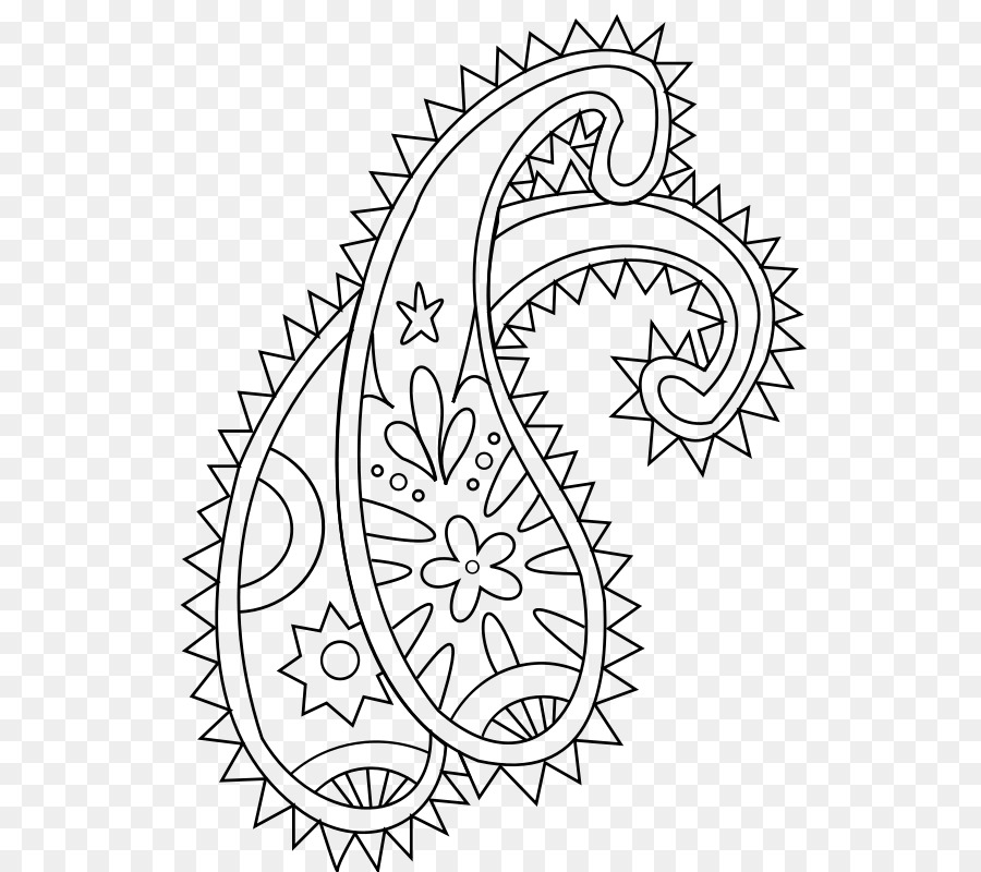 Book png download free. Paisley clipart black and white