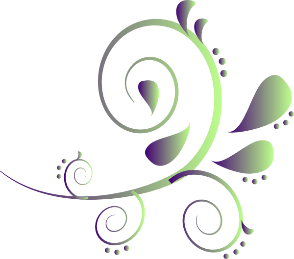 Paisley clipart boarder. Green border