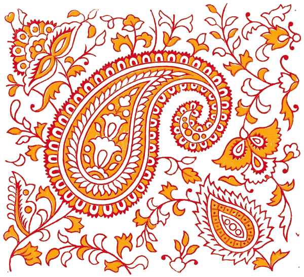 Paisley clipart design india. Hd of element textile