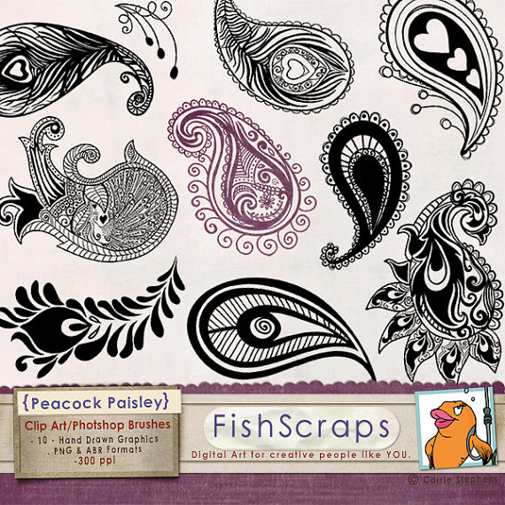 Paisley clipart elegant. Pin by heather lunstrum